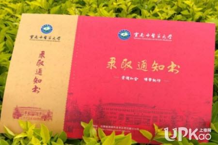 云南中医药大学2019年高考录取通知书有哪些内容