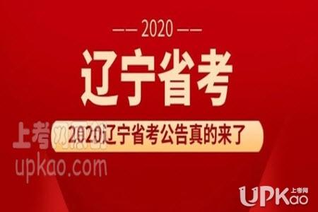 辽宁省2020年省考笔试时间安排是怎样(官方)