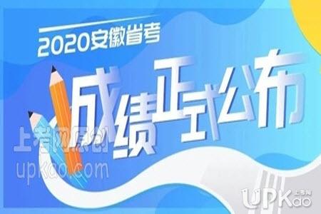 2020年安徽省考笔试成绩查询入口(官方最新)